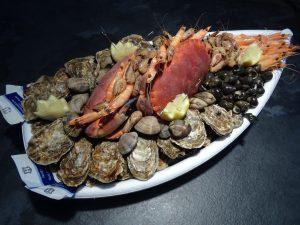 plateaux fruits mer asserac loire atlantique